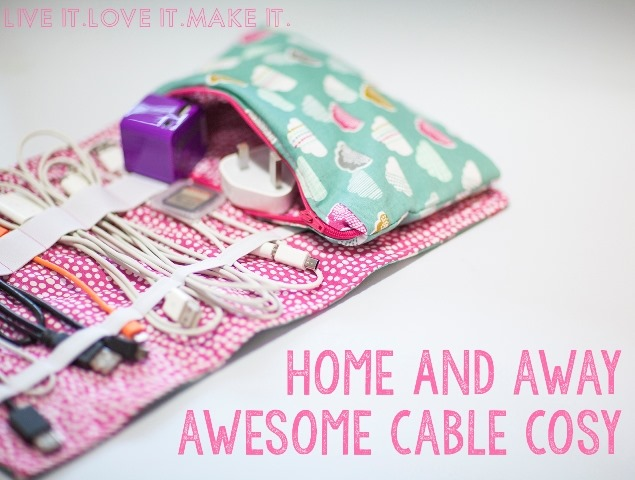 Cable Cozy from Live It Love It Make It