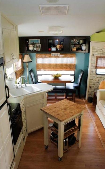 Fifth Wheel into Tiny Home on Tiny House Talk