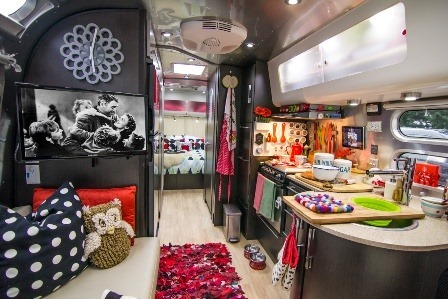 Peek inside Airstream on Just 5 More Minutes
