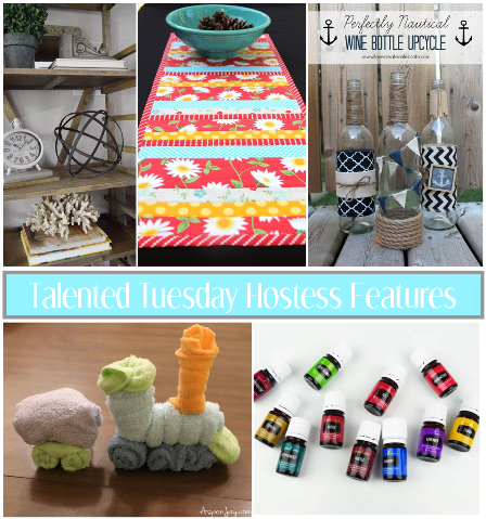 Talented Tuesday #41 Hostess Features