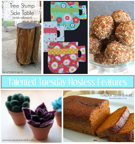 Talented Tuesday Link Party #45 Hostess Features