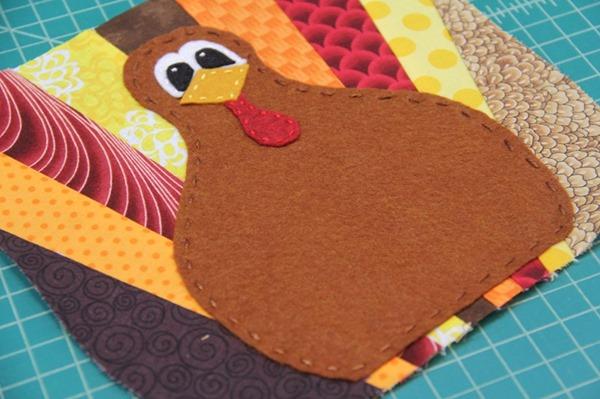 Adding the turkey