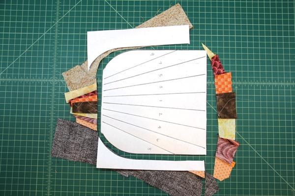 Cutting around pattern