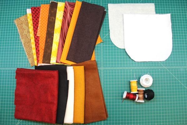 Turkey hot pad supplies