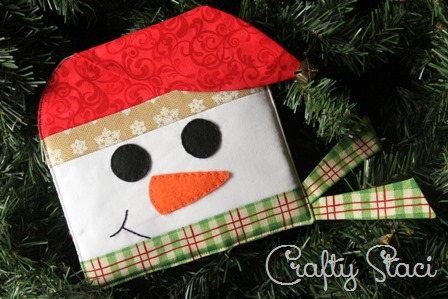 December Snowman Hot Pad of the Month