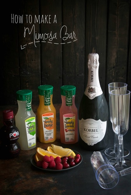Mimosa Bar from Sweet Phi