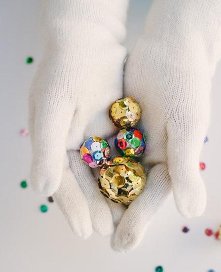 Mini Disco Balls from Handmade Charlotte