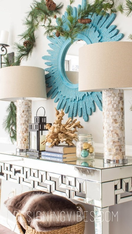 Rustic Glam Christmas Tour from Designing Vibes