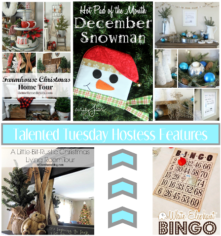 Talented Tuesday Link Party #59 Hostess Features