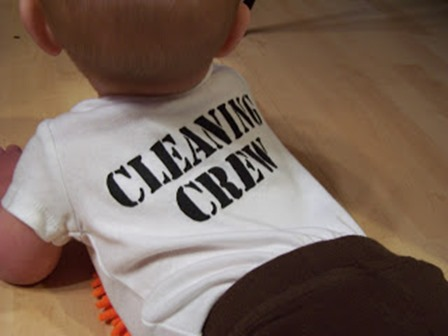 Baby Cleaning Crew from Creative Green Living