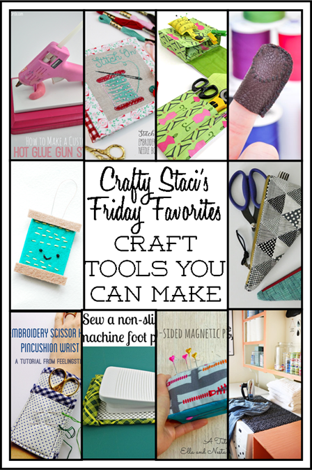 Friday Favorites - Craft Tools You Can Make