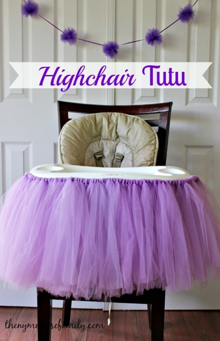 Highchair Tutu from The NY Melrose Family