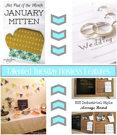 Talented Tuesday Link Party #62