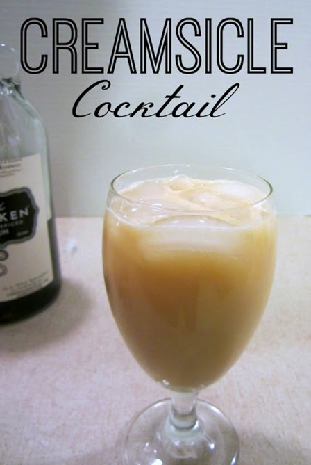 Creamsicle Cocktail from RCH Reviews