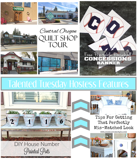 Talented Tuesday Link Party #75