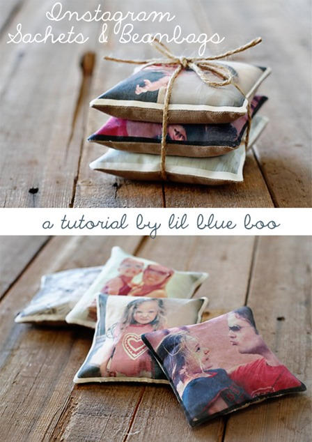 Instagram Sachets and Beanbags from Lil Blue Boo
