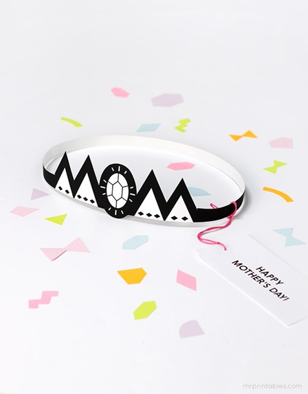 Mother's Day Crown from Mr Printables