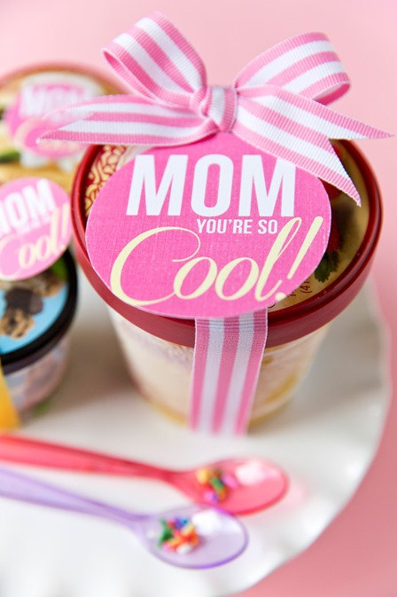 Mother's Day You're So Cool Ice Cream Gift from Pizzazzerie