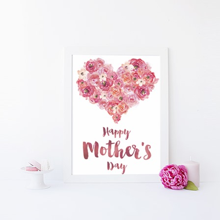 Printable Mother's Day Card from Ash and Crafts