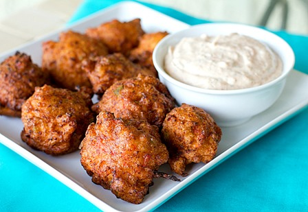 Conch Fritters from Brown Eyed Baker