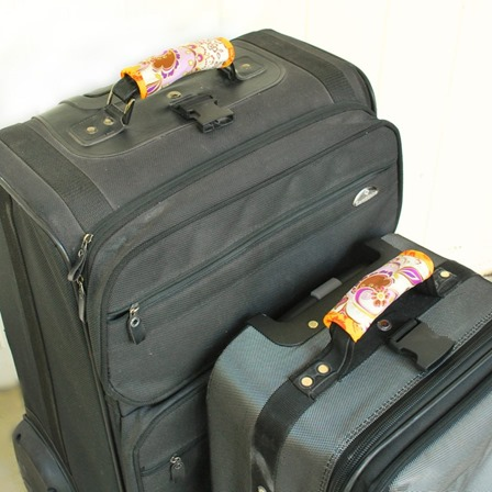 Luggage Handle Wraps from The Silly Pearl