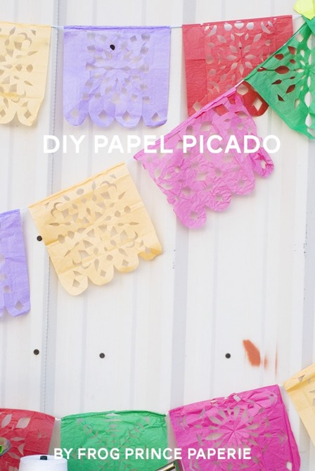 Papel Picado Banners from Frog Prince Paperie