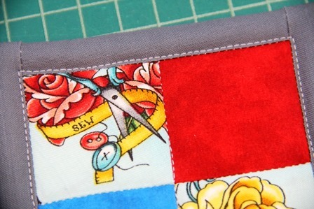 Quilting added