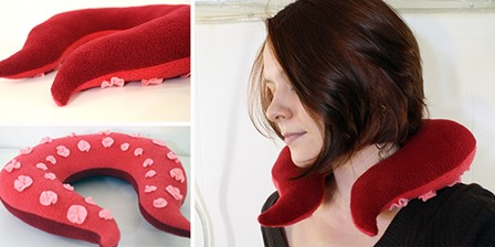 Tentacle Neck Pillow from Tally's Treasury