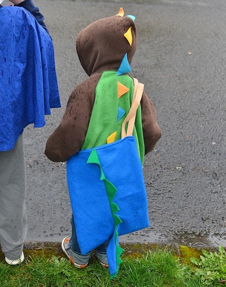 Dino Bag from Sew Mama Sew