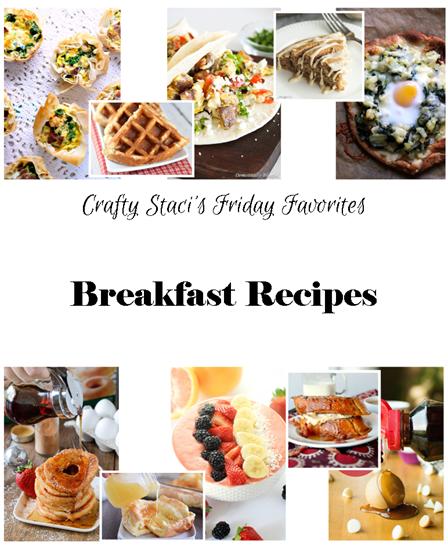 Friday Favorites - Breakfast Recipes