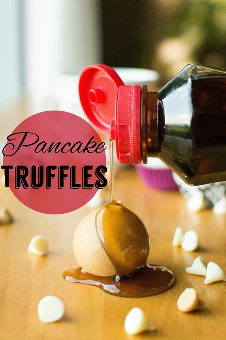 Pancake Truffles from A Bajillian Recipes