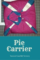 Pie Carrier from H and P Artistry