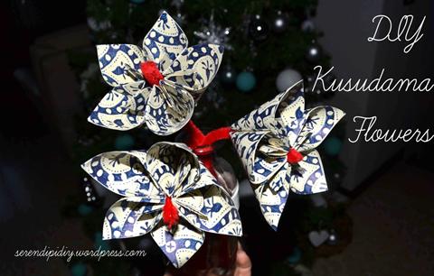 DIY Kusudama Flowers