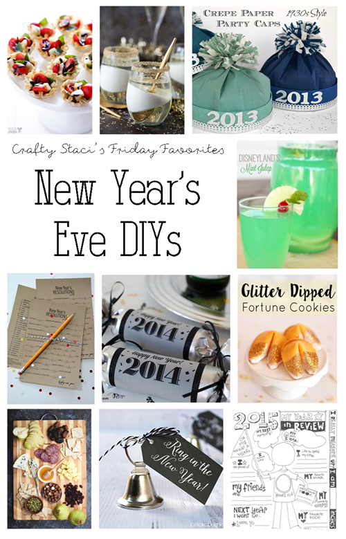 New Year's Eve DIYs - Crafty Staci's Friday Favorites
