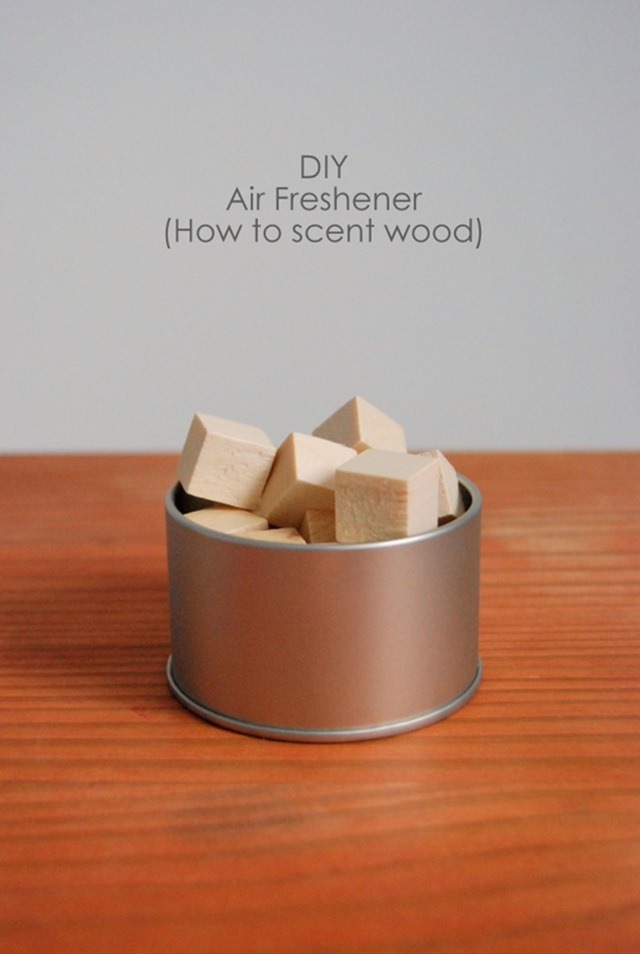 Scented Wood Air Freshener from North Story