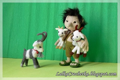 troll and 3 goats  (2)