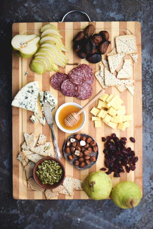 Winter Cheese Board from Gringalicious