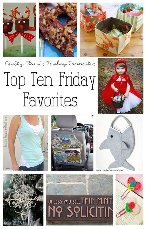 Top Ten Friday Favorites